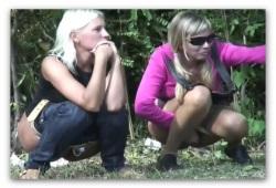 Женщины сикают на пустыре фото 509-919